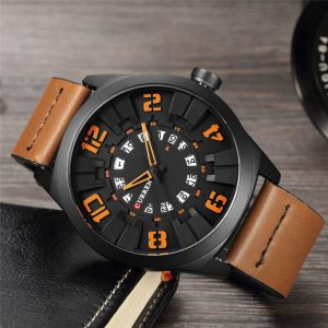 2020 New CURREN Watches Men Fashion Luxury Man Sport Clock Male Military Wristwatch Leather Quartz Watch Relogio Masculino 8258