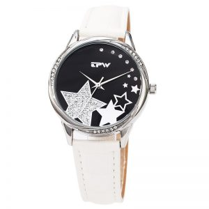 Women Watches Star New luxury Casual Analog Quartz Watch Leather Bracelet Watches Gift Relogio Feminino reloj mujer