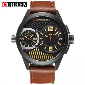 Curren 8249 Watches Men Top Brand Luxury Cow Quartz-Watches Sport Men's Watches Waterproof Relogio Mens Wrist Watches Men Clock