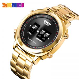 2020 SKMEI Top Brand Luxury Creative Drum Watch Waterproof Male Wristwatch Men Quartz Watch Sport Watches Relogio Masculino 1531