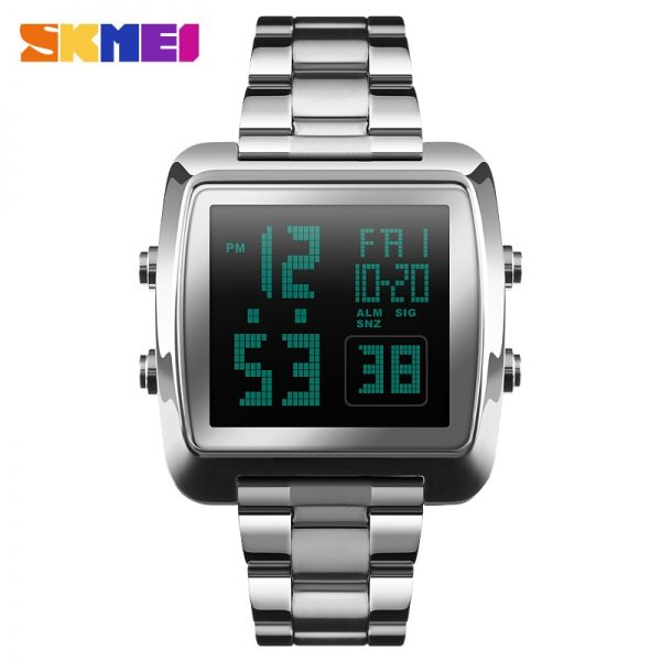 SKMEI LED Display Men Digital Watch Outdoor Dual Time Sports Watches Waterproof Male Wristwatch Relogio Masculino 1369 Clock