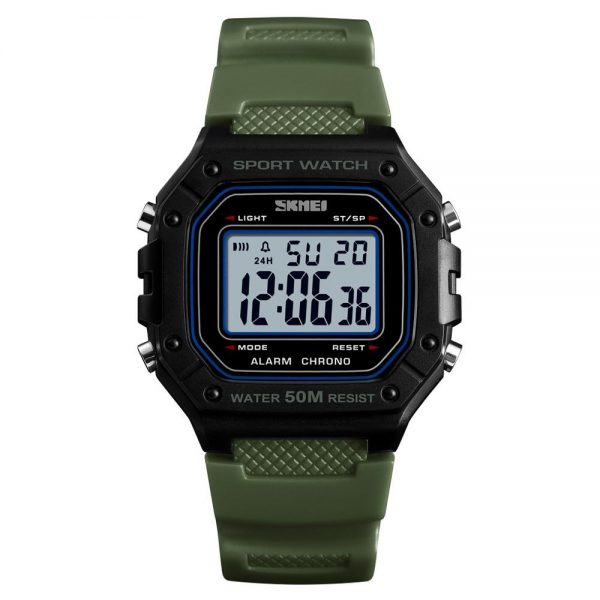 2020 SKMEI Men's Top Brand Wristwatch Men Sport Watch Military Male Digital Watch 5Bar Waterproof Clock Relogio Masculino 1496