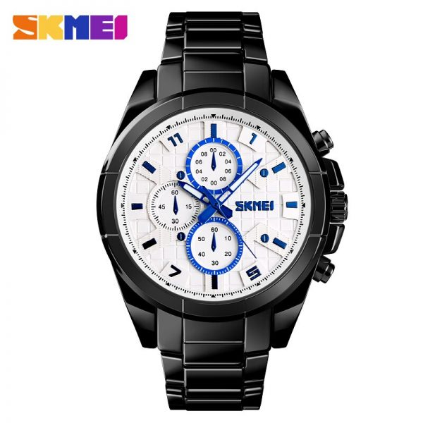 2020 SKMEI 1378 Luxury Golden Men Quartz Watch Sport Watches Clock Waterproof Full Steel Male Wristwatch Relogio Masculino
