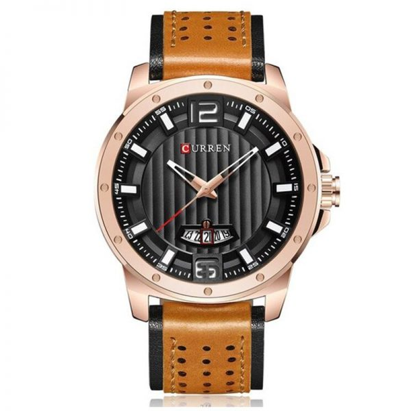 CURREN 8293 Mens Watches Waterproof Date Top Brand Luxury Leather Band Sport Business Military Male Clock Gift Relogio Masculino