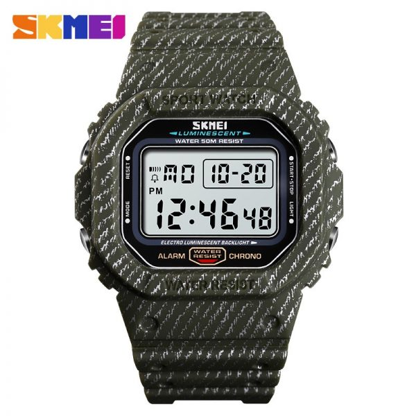 SKMEI Japanese movement Digital Men Watches Military Cowboy Chrono Calendar Sport Watch 5Bar Waterproof Male Electronic Clock