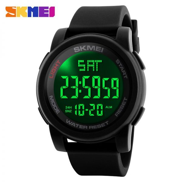 SKMEI Top Brand Men's Watches Casual LED Digital Watch Male WristWatches Waterproof Sport Watches Clock Relogio Masculino 1257
