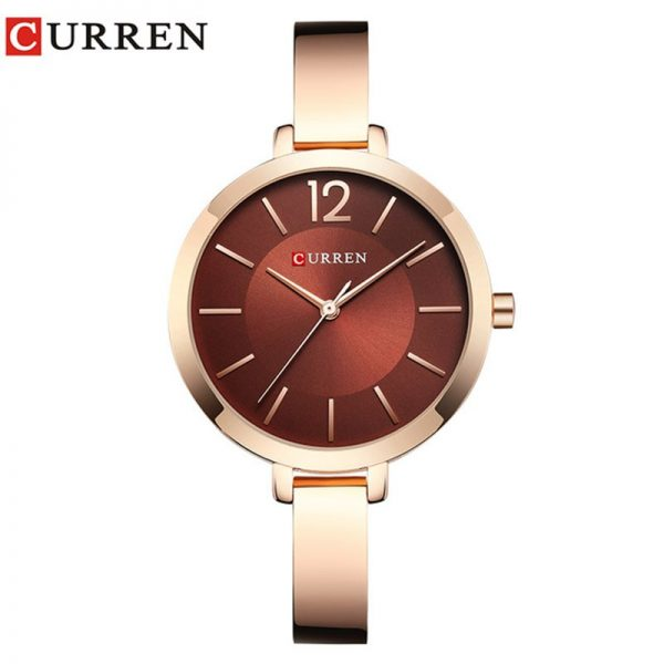 Women Watches Top Brand Luxury CURREN 9012 Quartz Women Watches Casual Fashion Ladies Wrist Watch relogio feminino Lady Clock