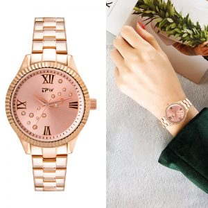 TPW Luxury Women Watch Waterproof Rose Gold Strap Ladies Wrist Watches Top Brand Bracelet Clock Relogio Feminino