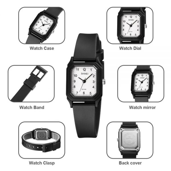 SKMEI Simple Waterproof Women Quartz Watches Top Brand 2020 Ladies Wristwatches reloj mujer 1651 Female Clock 5 Kinds Colors