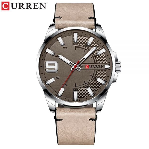 Hot Fashion Curren 8371 Luxury Business Watch Men Watches Men's Quartz Leather Wristwatch Waterproof Luminous Hands Clock Male