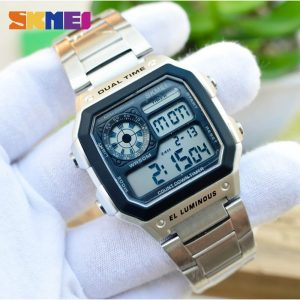 SKMEI 1335 Japan movement Digital Lumionus Men's watches Stopwatch Calendar Male Sport Watch Electronic Clock Relogio Masculino