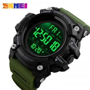 SKMEI Top Brand LED Display Men Sport Watches Digital Clock Countdown Stopwatch Luminous Alarm Male Electronic Wristwatch 1384