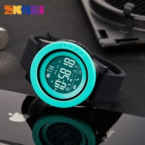 SKMEI New Bluetooth Calorie Pedometer Waterproof Sport Digital Watches Male Electronic Wristwatch Clock Relogio Masculino 1255