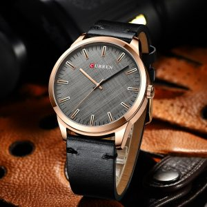 CURREN Watch men Luxury Leather Strap Business Wristwatch Fashion Simple Design Mens Quartz Watch Sport Waterproof Male Clock
