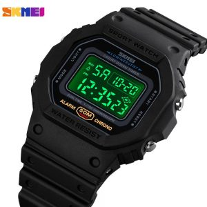 Top Brand SKMEI Fashion LED Display Digital Men's Watch Military Date Stopwatch Clock Male Sport Watches Relogio Masculino 1628