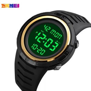 SKMEI 5Bar Waterproof Male Clock Chrono Count Down Calendar Sport Watches LED Display Men Digital Watch Relogio Masculino 1632