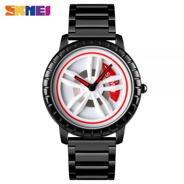 SKMEI Creative Hollow Rotating Dial Men Quartz Wristwatches Sport Watch relogio masculino 2020 Top Luxury Brand Watches 1634