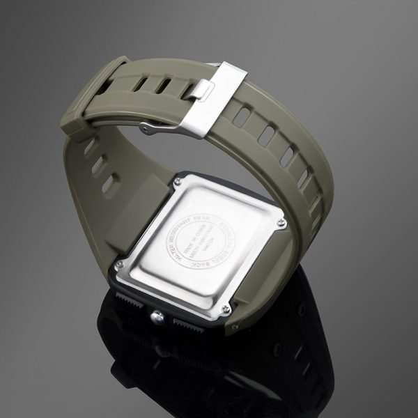 Camouflage Digital Watches Easy Reading Stopwatch Alarm Clock Calender 5Bar Waterproof BackLight Square Relogio Masculino