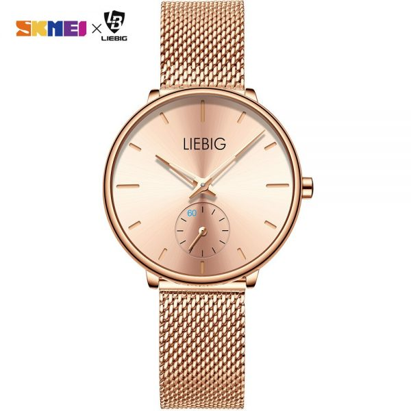 New Women Ladies Quartz Wristwatch Luxury Stainless Steel Brand 3Bar Waterproof Clock Montre Femme Reloj Mujer Women's Watches