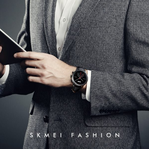 2020 SKMEI Simple Business Watches Top Brand Luxury Leather Strap Men Quartz Wristwatches Male Clock Relogio Masculino 1399