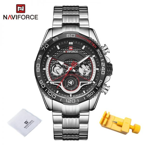 New NAVIFORCE Mens Military Business Watches Top Brand Luxury Male Clock Men Sports Fashion Quartz WristWatch Relogio Masculino