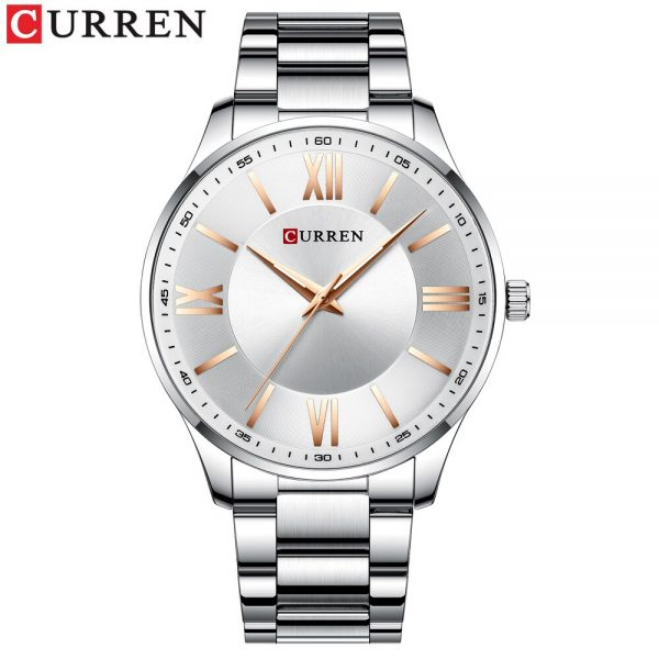 2020 Curren Watch Men's Brand Simple Business Quartz Wristwatch Fashion Luminous Hands Waterproof Classic Men's Watch Dropship