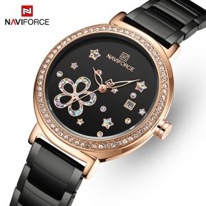 Watches for Women NAVIFORCE Luxury Brand Fashion Ladies Watch Girls Dress Wristwatch Quartz Waterproof Clock relogio feminino