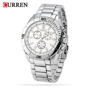 Curren 8044 Men Watch Waterproof Male Steel Belt Business Leisure Relogio Masculino Mens Watches Top Brand Luxury Clock For Sale