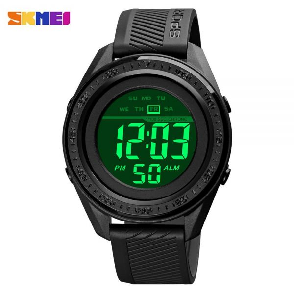 SKMEI Fashion LED Light 5Bar Waterproof electronic Men's Watch Military Stopwatch Clock Relogio Masculino 1638 Sports Watches