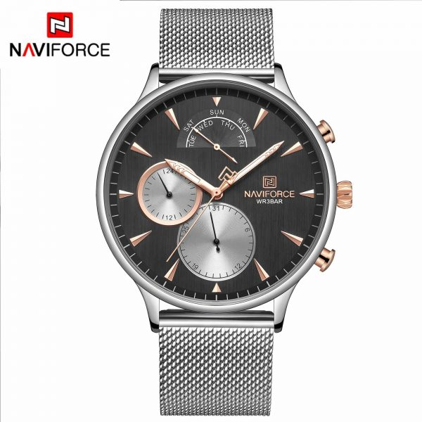 NAVIFORCE Men Fashion Watches Top Brand Luxury Military Quartz Watch Male Waterproof Sport Clock Wrist Watch Relogio Masculino
