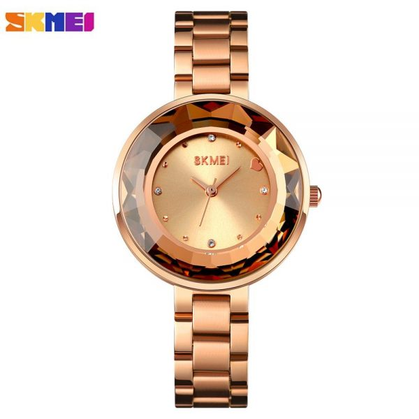 SKMEI Fashion Geneva Designer Ladies Watches 2020 Top Brand Luxury Quartz Wrist Watch Best Gifts For Women Relogio Feminino 1707