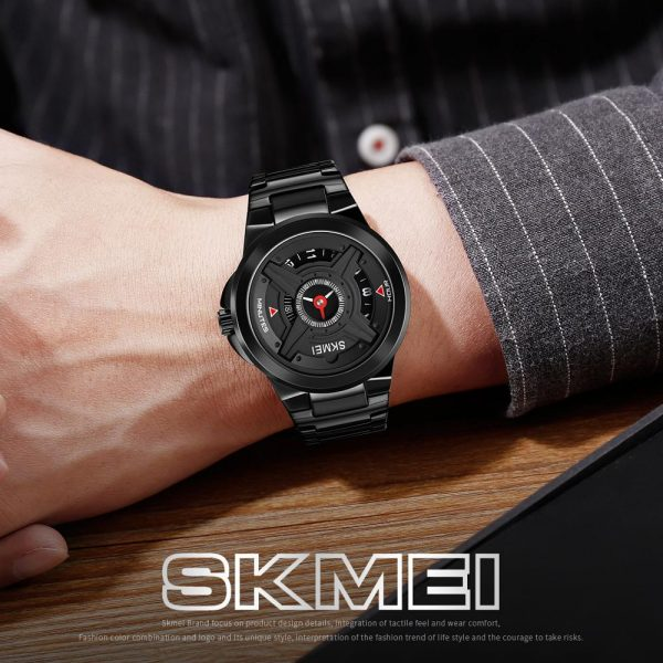 SKMEI Japan Movement Quartz Creative Pointer Dial Men Watches Clock Simple Waterproof Male Wristwatches Relogio Masculino 1699