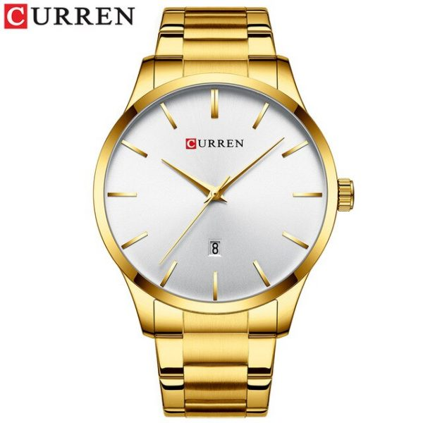 Men Watch Top Brand CURREN Luxury Sport Simple Quartz Wristwatches For Men Clock Watch Stainless Steel Relojes Relogio Masculino