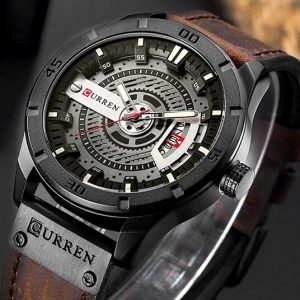 CURREN Watch Brand Men Military Luxury Sports Watches Men's Quartz Date Clock Man Casual Leather Wrist Watch Relogio Masculino