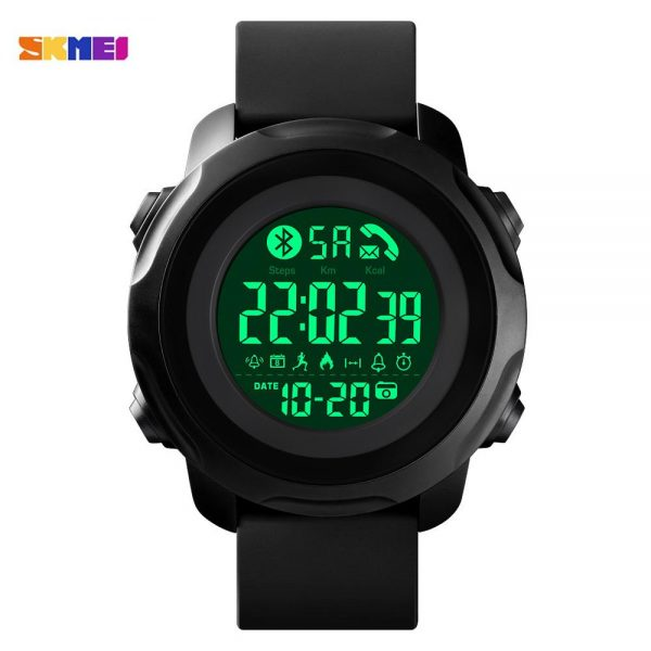 SKMEI Military LED Light Men Sports Wrist Watches Calorie Pedometer 5Bar Waterproof Male Digital Clock Relogio Masculino 1572