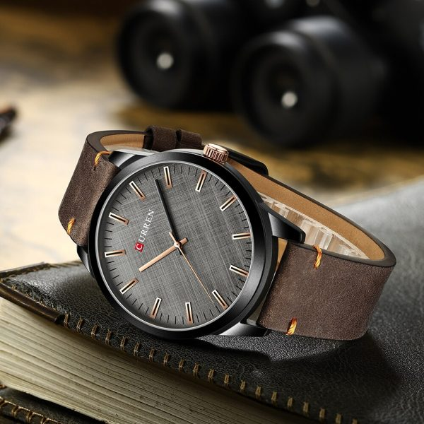 CURREN Sport Watches Men 2020 Classic Business Simple Leather Wristwatch For Man Military Quartz Clock Relógio masculino 8386