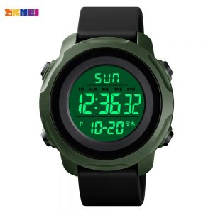 SKMEI Top Brand Waterproof Stopwatch Digital Wristwatch Male Fashion LED Light Men Sport Watches Relogio Masculino 1540 Clock