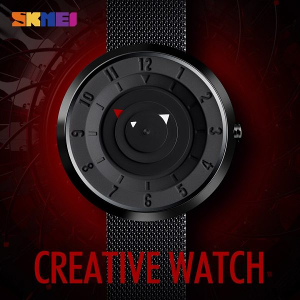 SKMEI 9174 Waterproof Male Quartz Wristwatches Simple Compass Style Men Business Watches montre homme Clock reloj hombre 2020