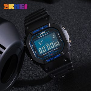 SKMEI 1134 Top Brand Men Electronic Wristwatch Luminous Chronograph Digital Male Sport Watches 50m Waterproof Clock Montre homme