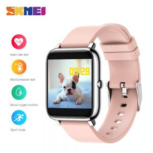 SKMEI P22 Men Women Smart Watch Sport Fitness Tracker Heart Rate Blood Pressure oxygen Monitor IP67 Smartwatch For Android IOS
