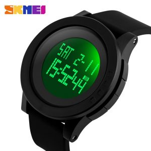 SKMEI luminous Men Digital Watch Chrono Alarm Sports Watches 5Bar Water Resistant Male Electronic Clock Montre homme Reloj 1142